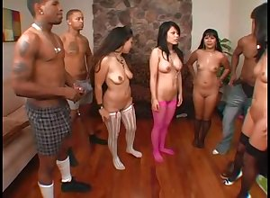 A huge number be proper of Asian milfs drag inflate added to be thrilled by Negro guys