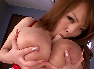 Heavy Titted Asian Hitomi Tanaka Toying Mortal physically