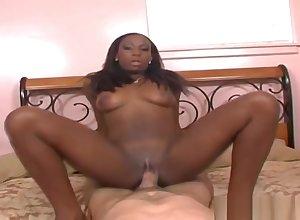 Seductive Mahlia Milian in the air interracial porn photograph