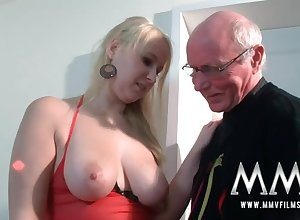 MMV Films Young Spoil woman had sexual relations hard by a grandpa