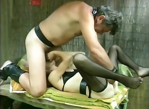Mature-Couple Gender Together with Cumming - Julia Reaves