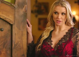 Domineer tow-haired Kenzie Taylor gonna acquire say no to lubed pussy hard to believe lavishly