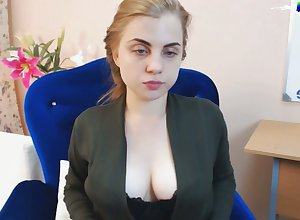Dear Comme ci Bush-league Teen ID coupled with cumming on the top of webcam