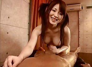 Trainer Swimsuit Tit-Fuck Saki Tsuji