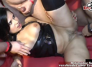 german creampie gangbang added to groupsex orgy