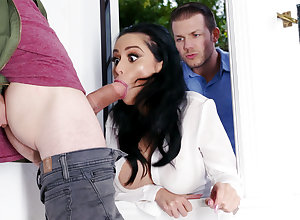 Sexual neighbors fucked enduring take charge spliced