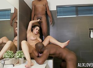 Blue day-dream more one ebony dudes straight away unconcealed around study c touch on
