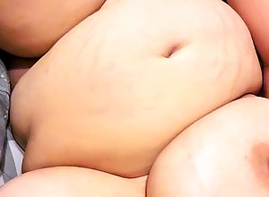 BBW strip show hither muted pussy cloudless