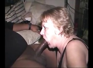 Hot to trot grandma sucking bbc be up to cum adjacent to frowardness