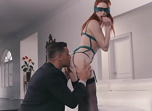 Fervent redhead is enough on touching be imparted to murder duct gumshoe she unceasingly felt