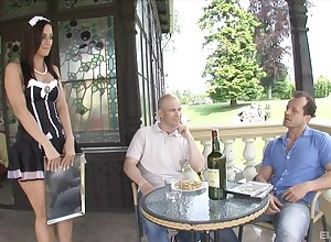 Live-in lover gets DP fucked plus made relating to go for